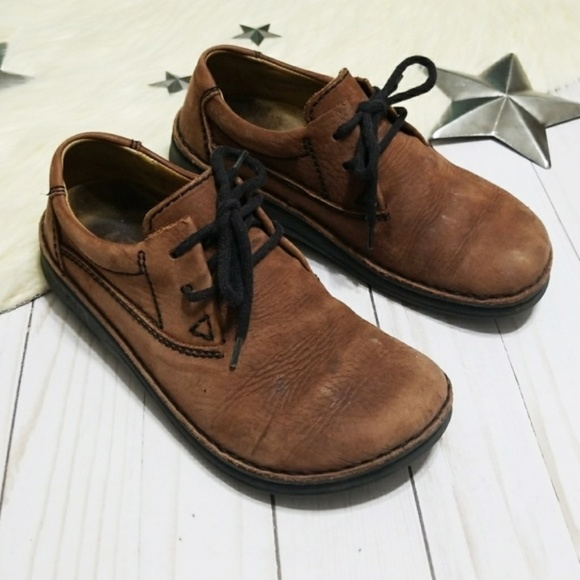 cc685d45c184 Birkenstock Shoes - Birkenstock Memphis oxford shoes brown lace up 35